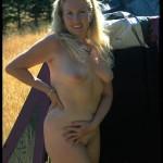 Nackt beim Zelten